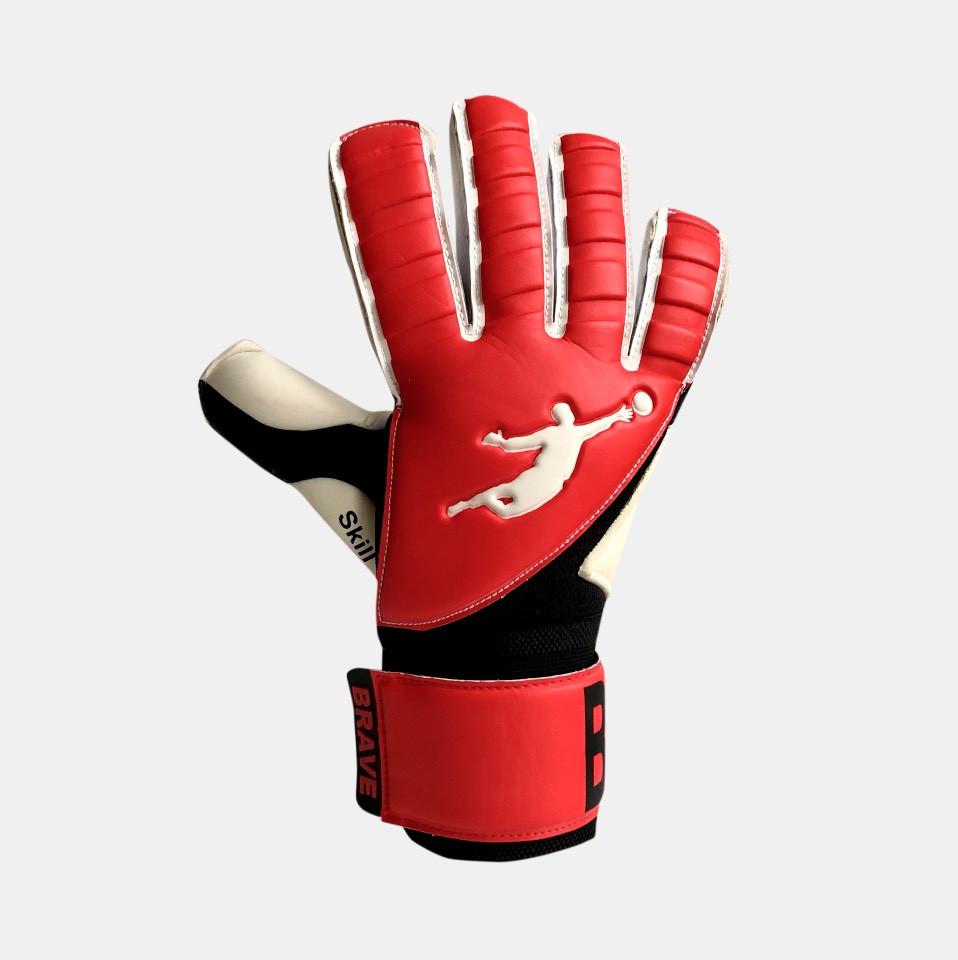 Перчатки вратарские BRAVE GK SKILL RED/BLACK p.9
