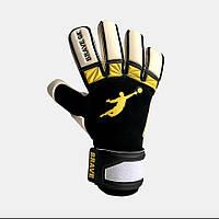 Перчатки вратарские BRAVE GK UNIQUE 2.0 YELLOW/BLACK, фото 1