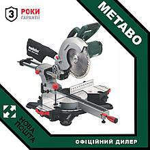 Пила торцювальна Metabo KGS 254 M (602540000) + Пильний диск по дереву!