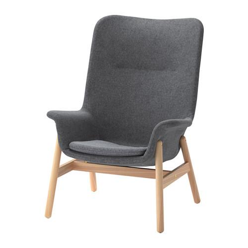 Крісло з високою спинкою VEDBO