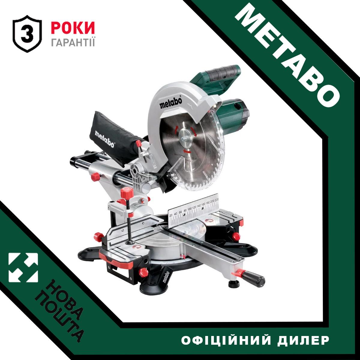 Пила торцювальна Metabo KGS 305 M (619305000) + Пильний диск по дереву!