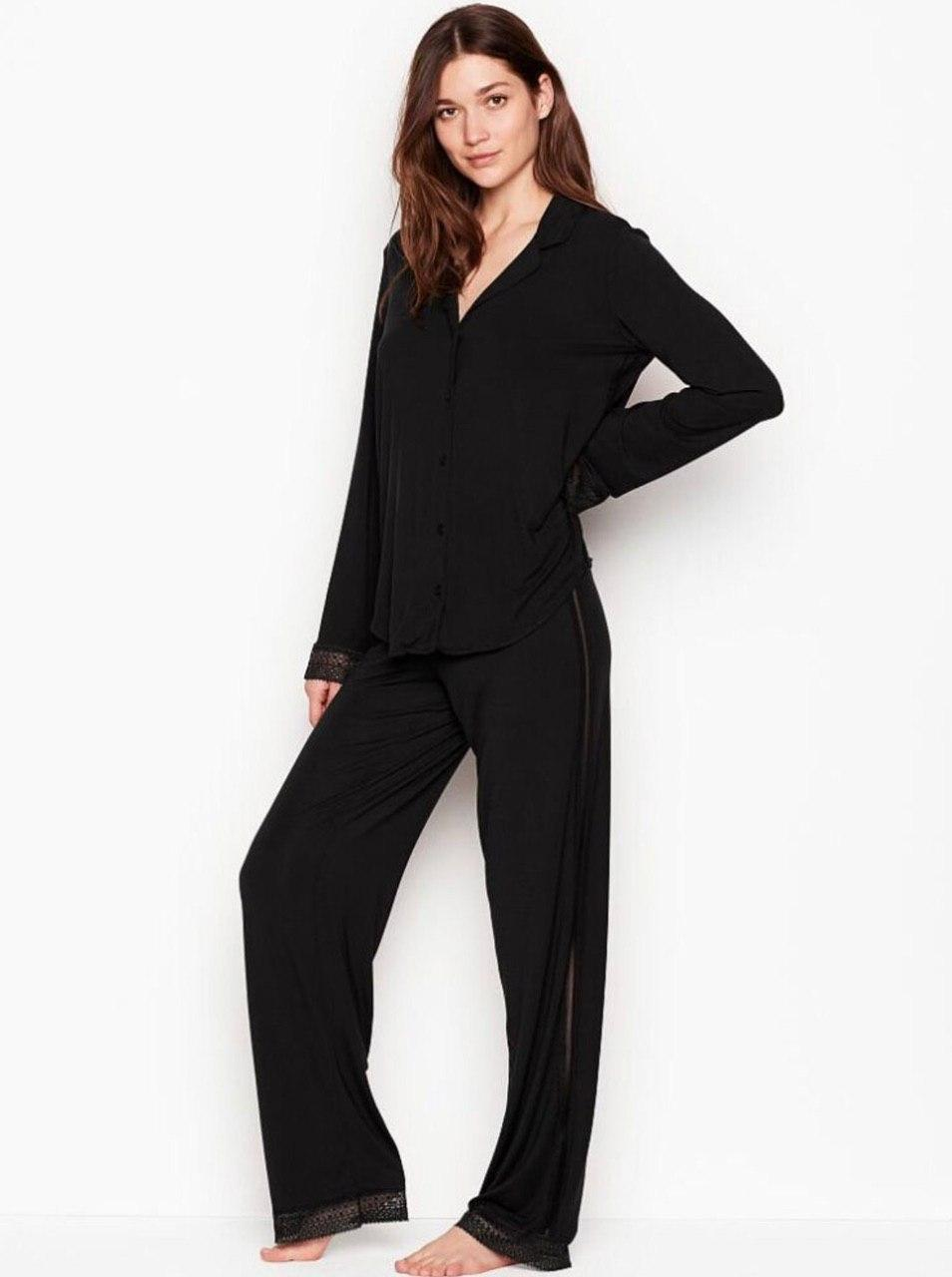 Трикотажная Пижама Victoria's Secret Supersoft Modal PJ Set, Разные цвета