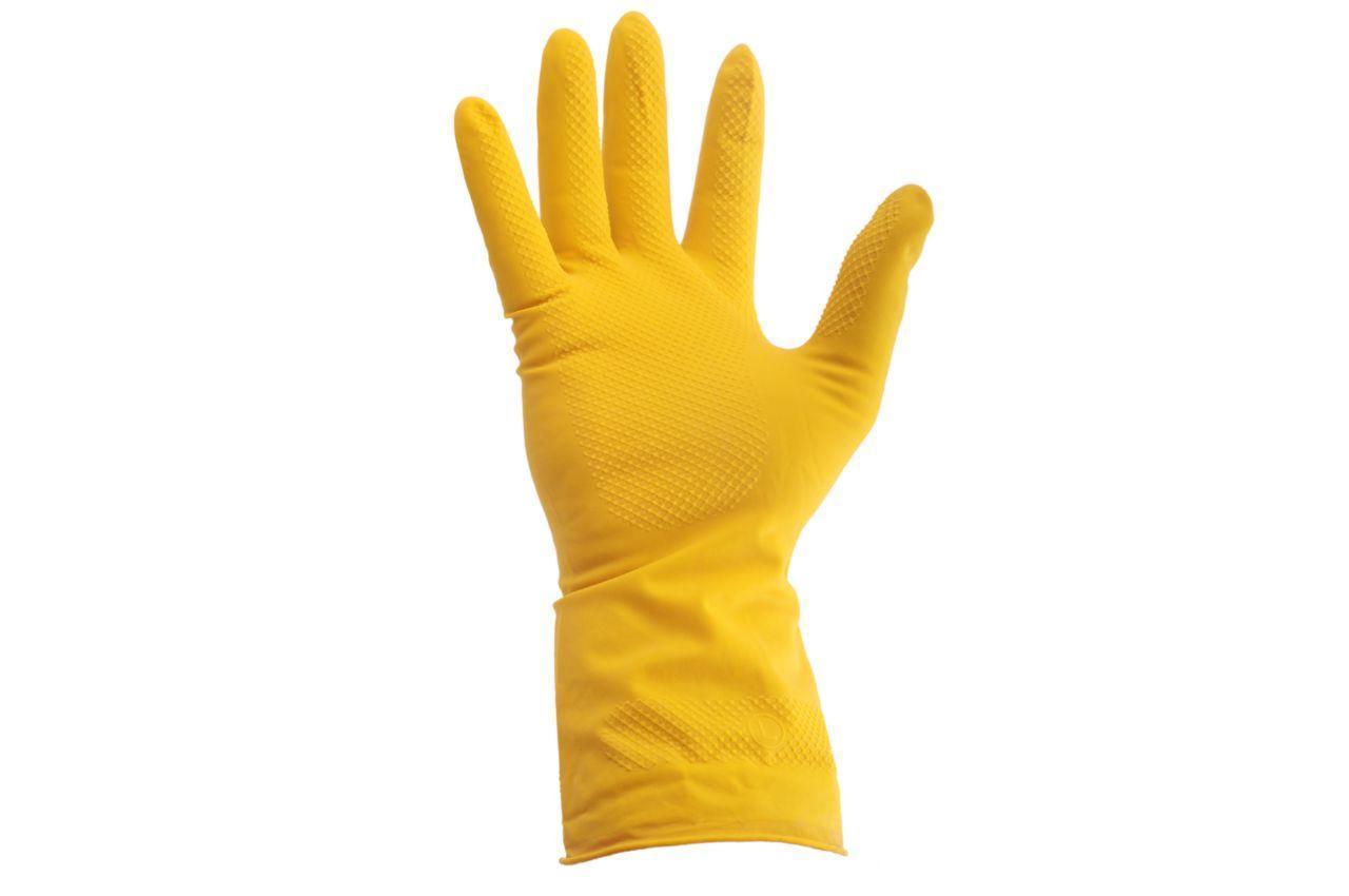 """Перчатки рабочие Intertool - резиновые (M) 8"""""""