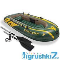 Intex Надувний човен 68380 NP Seahawk 3