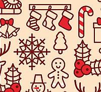 Новогодние скатерти по Вашим размерам купить новогоднюю ткань в интернет магазине