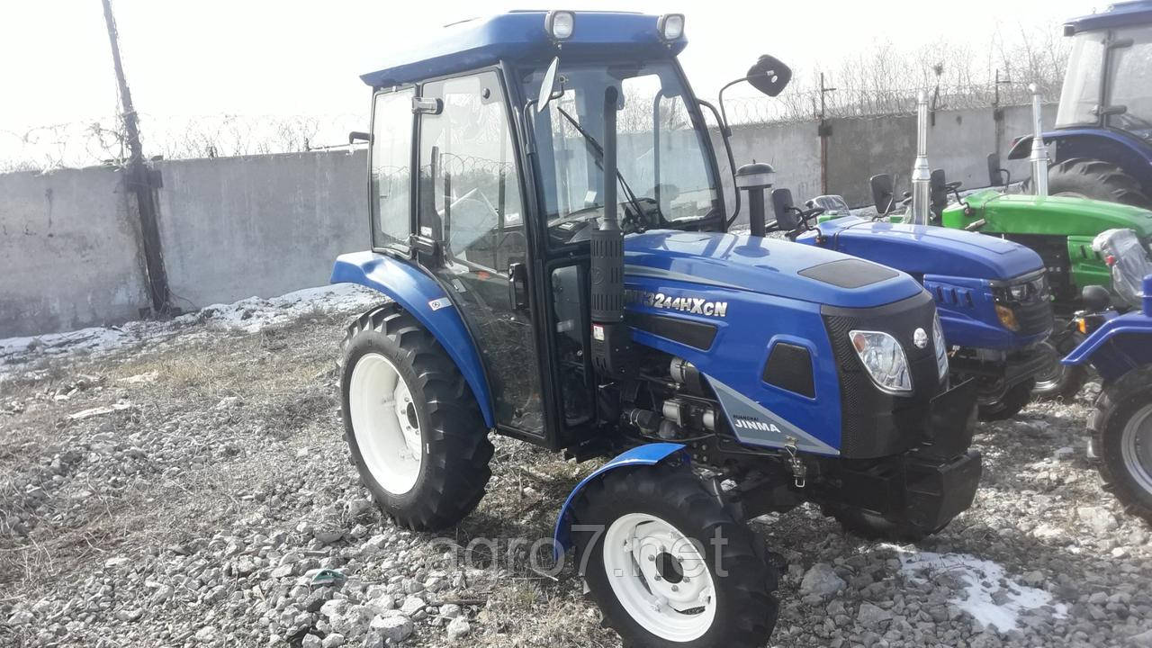Трактор JMT3244HXCN (24 л.с, 4×4, ГУР)