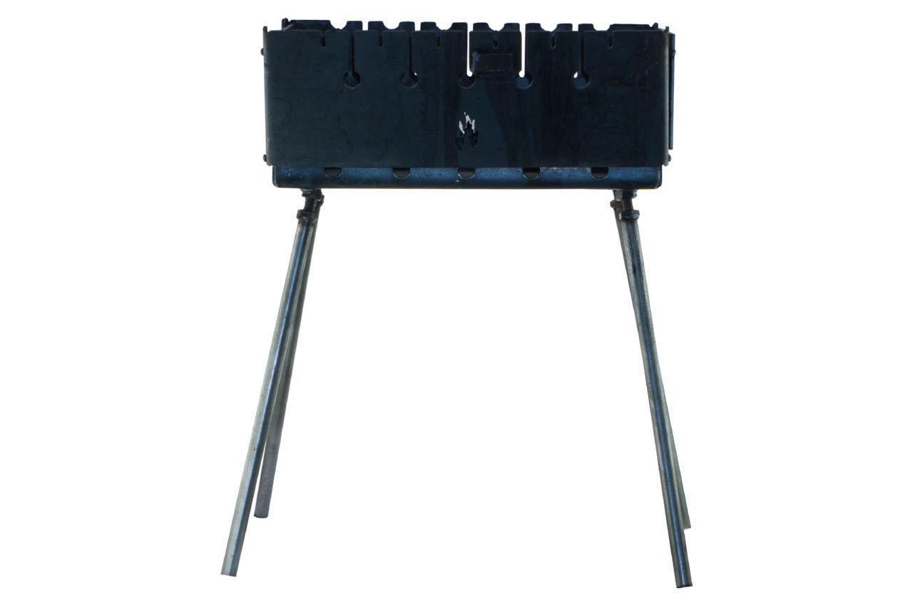 Мангал-чемодан на 14 шампуров x 3 мм