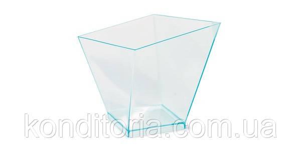 Пластиковые стаканы с крышкой для десертов 120 мл.
