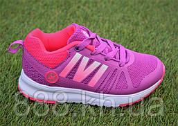 Детские светящиеся кроссовки Adidas для девочки сиреневые р25-30, копия