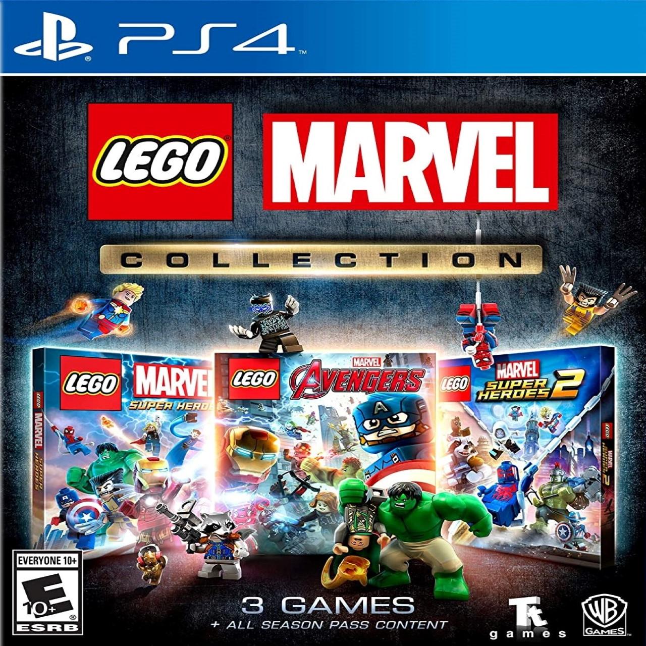 Lego Marvel Collection (російські субтитри) PS4