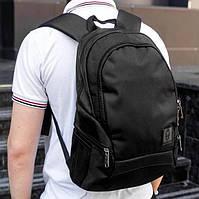 Рюкзак мужской городской спортивный черный, мужской рюкзак городской для ноутбука, рюкзак роллтоп мужской