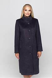 Пальто женское демисезонное шерстяное, большой размер, Ода| 50, 52, 54, 56, 58 размеры