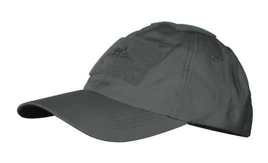 Бейсболка Helikon - Shadow Grey (Cotton Ripstop)