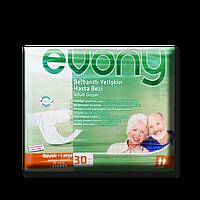 """Подгузники для взрослых """"Evony"""" 100-150 см Large 30 шт."""