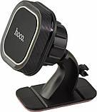 Автомобильный магнитный держатель для телефонов Hoco. Держатель для телефона в машину. Холдер, фото 2