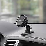 Автомобильный магнитный держатель для телефонов Hoco. Держатель для телефона в машину. Холдер, фото 4