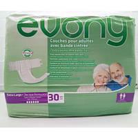 """Подгузники для взрослых """"Evony"""" 4 р-р 120-170 см Extra Large 30 шт"""