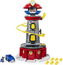 Щенячий патруль Paw Patrol Мегаспасательная станция свет звук и Гонщик Чейз с машиной Spin Master