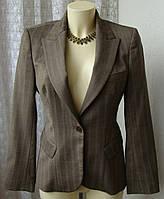Пиджак женский элегантный офисный шерсть бренд Warehouse р.44 4458