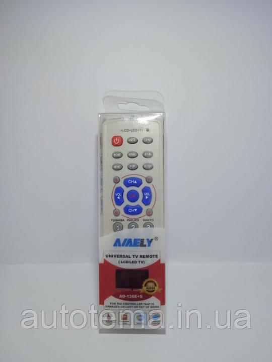 Пульт універсальний для телевізора TOSHIBA PHILIPS SHARP HITACHI NOBEL SAMSUNG SONI LG TCL Panasonic JVC