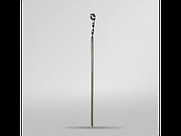 Шампур плоский 57 см из нержавеющей стали для мангала Vesuvi