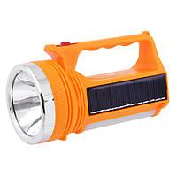 LED-фонарь переносной 9+1 диода, солнечная подзарядка аккумулятора, сеть 220В