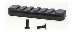 Планка Вивера на цевье МР-153 80мм (на пластиковое цевье)