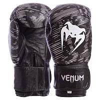 Перчатки длябоксаVenumBO-5430 14 унцийкожа цвет черный