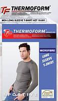 Термокофта с длинным рукавом мужская спорт Thermoform TM, мужское термобелье
