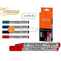 Набір маркерів перманентних 4 кол. Tukzar