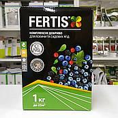 Комплексное удобрения для голубики и садовых ягод без хлора и нитратов Fertis (Фертис) 1 кг