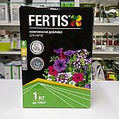 Комплексное удобрение для цветущих цветов без хлора Fertis (Фертис)1 кг