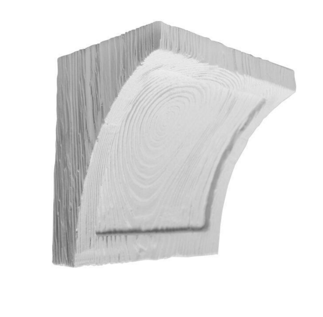 Консоль  EQ 025 classic біла 19х13 , лепний декор із поліуретану