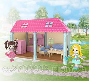Ігровий набір Jieyu будиночок на 2 кімнати (6910010301025)
