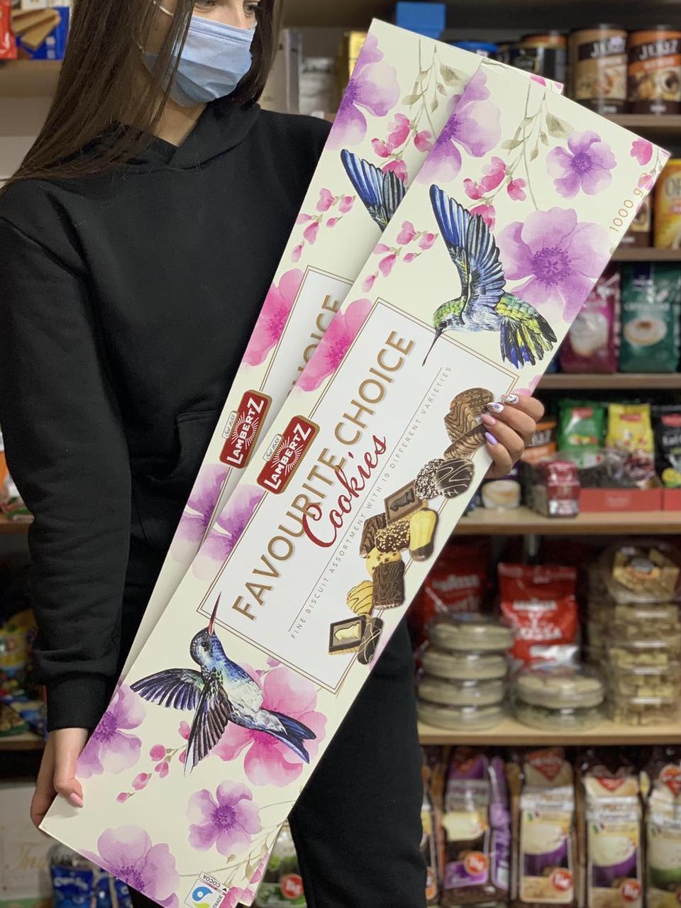 Подарунковий набір солодощів Lambertz, 1 кг, Німеччина