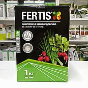 Комплексное весенние удобрение без хлора и нитратов Fertis (Фертис) 1 кг