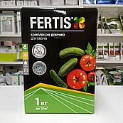 Комплексное удобрение для овощей без хлора и нитратов Fertis (Фертис) 1 кг