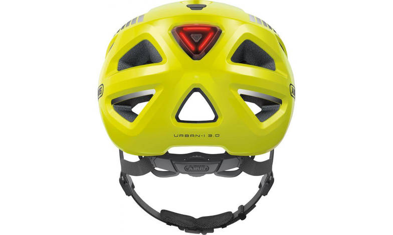 Шолом велосипедний ABUS URBAN-I 3.0 M 52-58 Signal Yellow, фото 2