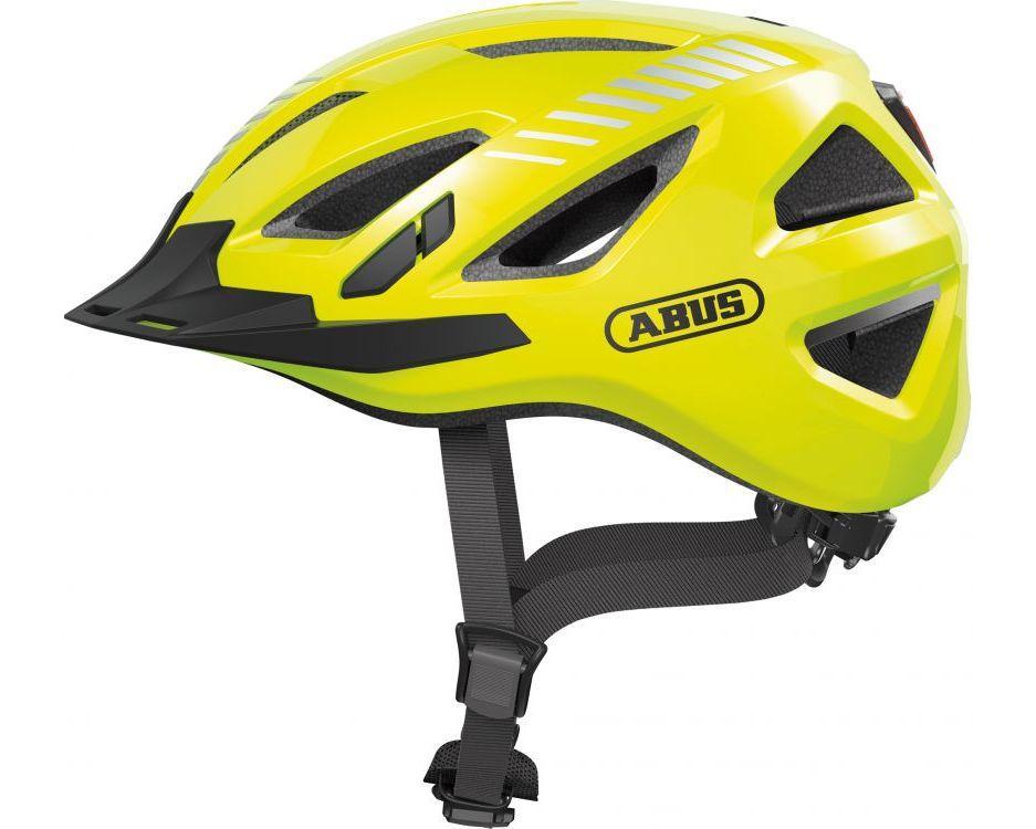 Шолом велосипедний ABUS URBAN-I 3.0 M 52-58 Signal Yellow