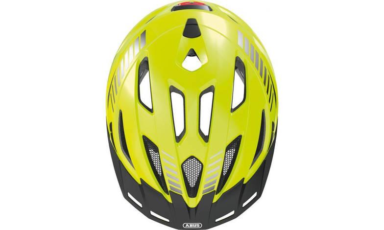 Шолом велосипедний ABUS URBAN-I 3.0 M 52-58 Signal Yellow, фото 3