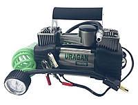 Автомобільний двухпоршневой компресор URAGAN 85 л/хв 12 вольт