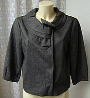 Жакет женский элегантный красивый курточка бренд Minuet р.46 4462а
