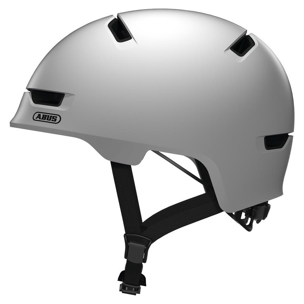 Шолом велосипедний ABUS SCRAPER 3.0 M 54-58 Polar Matt