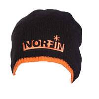 Шапка вязаная мужская Norfin черная (302773-BL)
