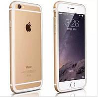 Бампер Evoque Metal+TPU для Apple iPhone 6/6s Gold