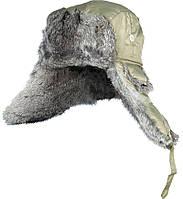 Шапка-ушанка мужская с мехом Norfin ARDENT оливковая (302764)