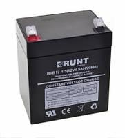 Надежный свинцово-кислотный аккумулятор BRUNT Energy BTB-12V 4,5Ah
