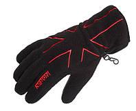 Перчатки флисовые Norfin Women BLACK (705062)