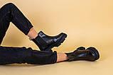 Черевики жіночі на байку чорні, фото 5