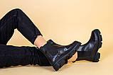 Черевики жіночі на байку чорні, фото 7